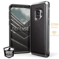 X-Doria Defense Lux - Etui aluminiowe Samsung Galaxy S9 (Black Leather)