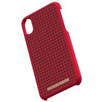 Nordic Elements Saeson Idun - Materiałowe etui iPhone Xs / X (Red)