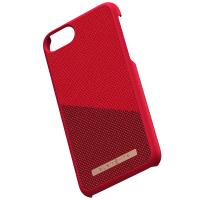 Nordic Elements Saeson Freja - Materiałowe etui iPhone SE 2020 / 8 / 7 (Red)