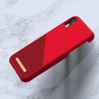 Nordic Elements Saeson Freja - Materiałowe etui iPhone XR (Red)