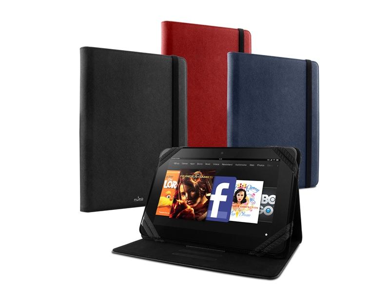"PURO Universal Booklet Tablet Case - Etui tablet 8.9"" (czerwony)"