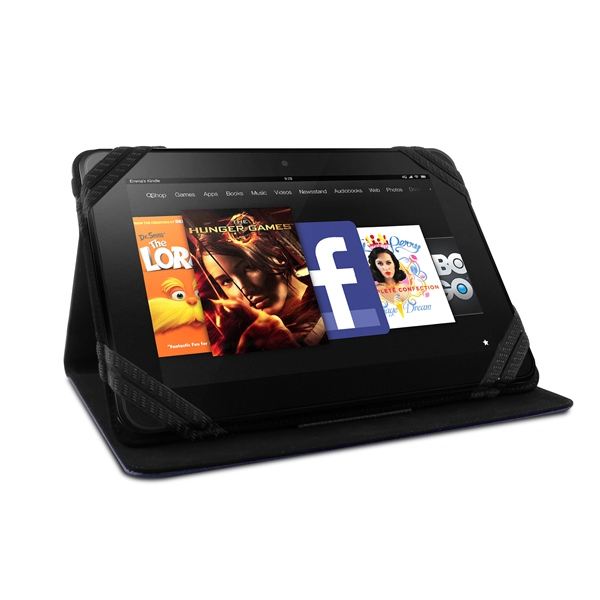 "PURO Universal Booklet Tablet Case - Etui tablet 8.9"" (niebieski)"