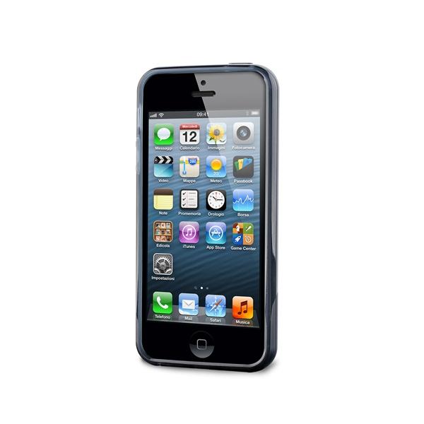 PURO Plasma Cover - Etui iPhone SE / iPhone 5s / iPhone 5 (czarny)