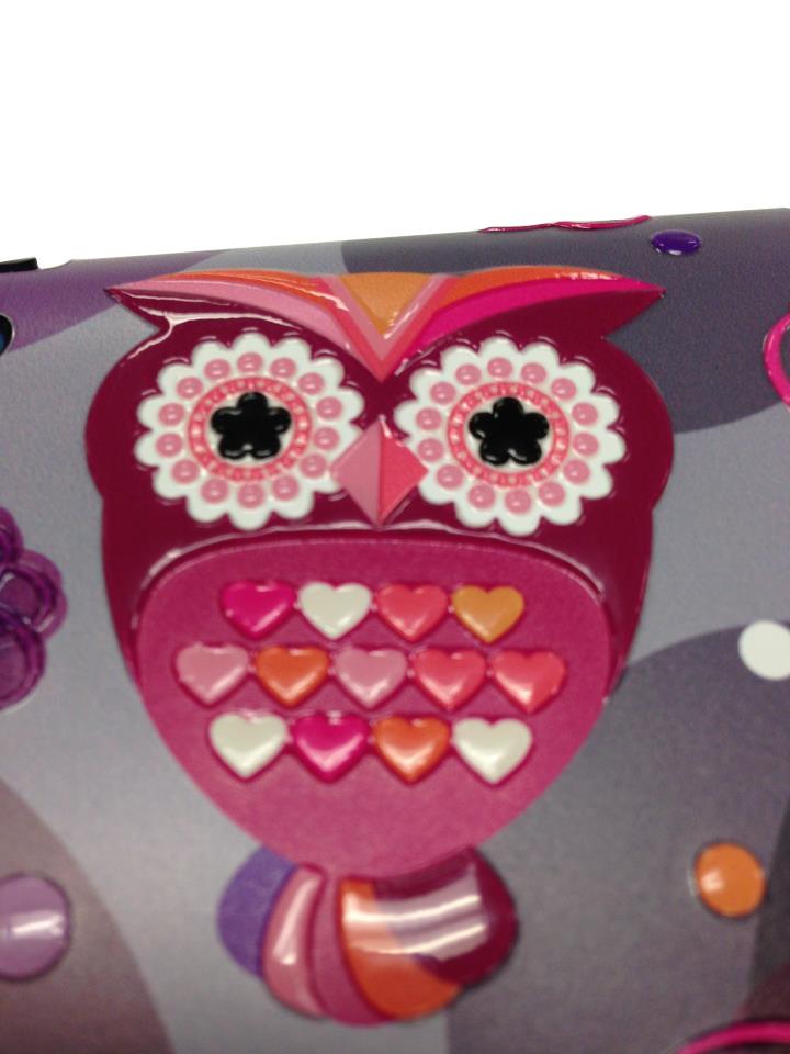 Nexgen Skins - Zestaw skórek na obudowę z efektem 3D iPad mini (Owlettes 3D)