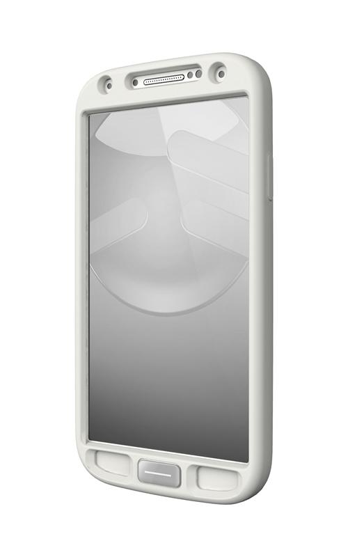 SwitchEasy Colors - Etui Samsung GALAXY S4 + 2 folie ochronne na ekran (biały)