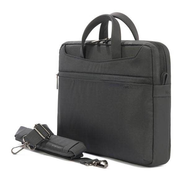 "TUCANO Work_out Slim Bag - Torba MacBook Air 13"" / MacBook Pro 13"" / MacBook Pro 13"" Retina / Ultrabook 13"" + kieszeń na iPada (czarny)"