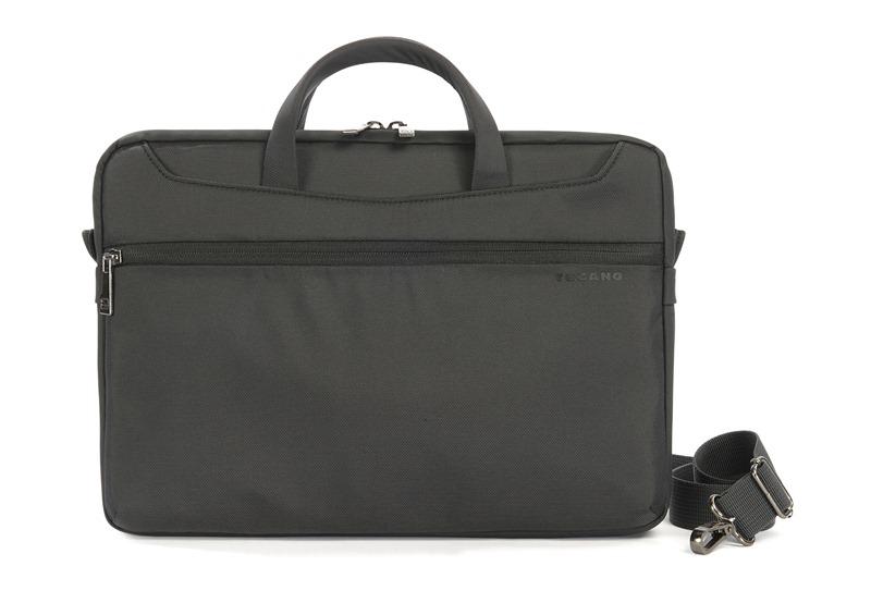 "TUCANO Work_out Slim Bag - Torba MacBook Air 13"" / MacBook Pro 13"" / MacBook Pro 13"" Retina / Ultrabook 13"" + kieszeń na iPada (czarny)"