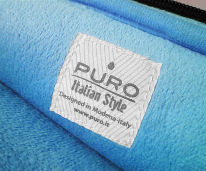 """PURO Universal Sleeve - Etui do tabletów 7.9"""" (czarny)"""