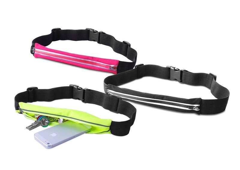 """PURO Universal Sport Belt - Sportowy pasek do smartfonów max 5,7"""" (różowy)"""