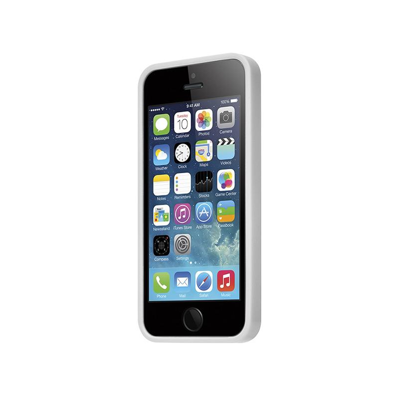 Laut HUEX - Etui iPhone SE / iPhone 5s / iPhone 5 + 2x folia na ekran (biały)