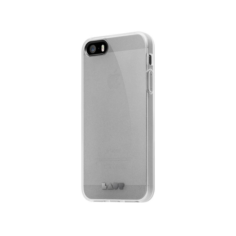 Laut HUEX - Etui iPhone SE / iPhone 5s / iPhone 5 + 2x folia na ekran (przezroczysty)