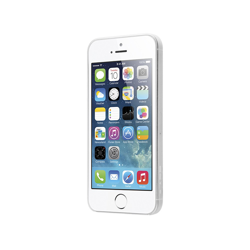Laut SLIMSKIN - Etui iPhone SE / iPhone 5s / iPhone 5 + 2x folia na ekran (przezroczysty)