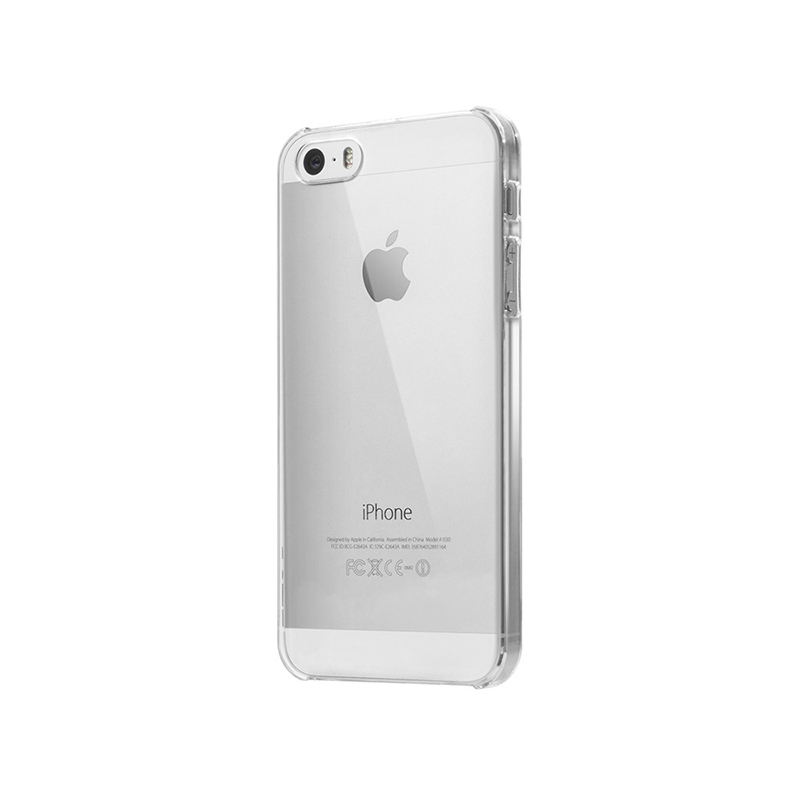 Laut SLIM - Etui iPhone SE / iPhone 5s / iPhone 5 + 2x folia na ekran (przezroczysty)