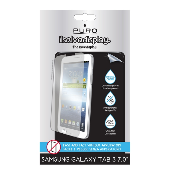 "PURO Folia na ekran Samsung GALAXY Tab 3 7"" SM-T210"
