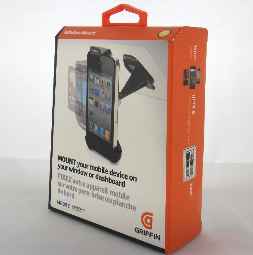 Griffin Window Mount - Uchwyt samochodowy iPhone 4s / iPhone 4 / Motorola / HTC i inne