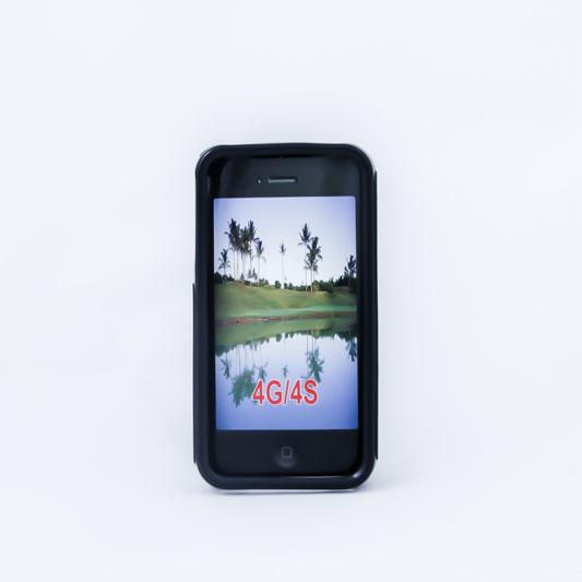 Geffy - Etui iPhone 4s / iPhone 4 TPU S black