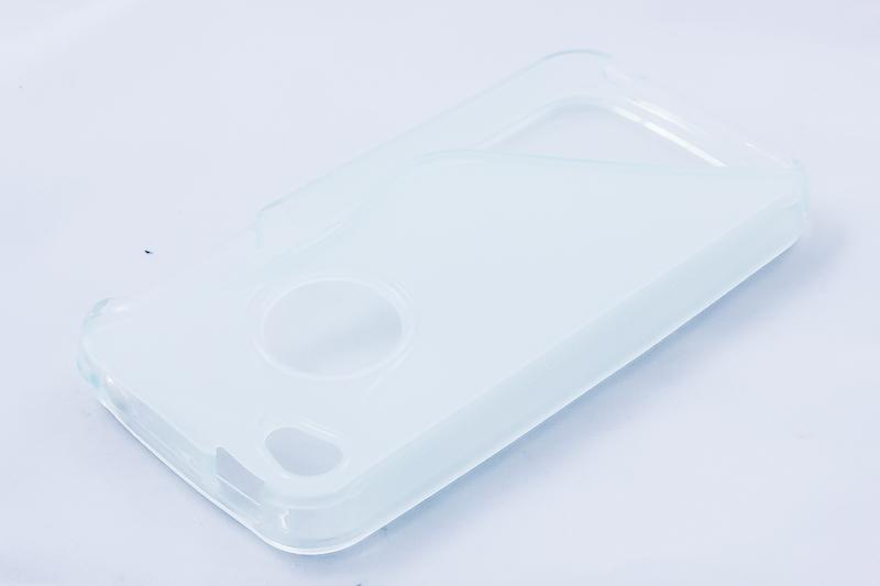Geffy - Etui iPhone 4s / iPhone 4 TPU S clear
