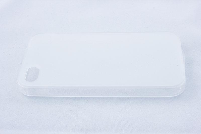 Geffy - Etui iPhone 4s / iPhone 4 TPU mat clear