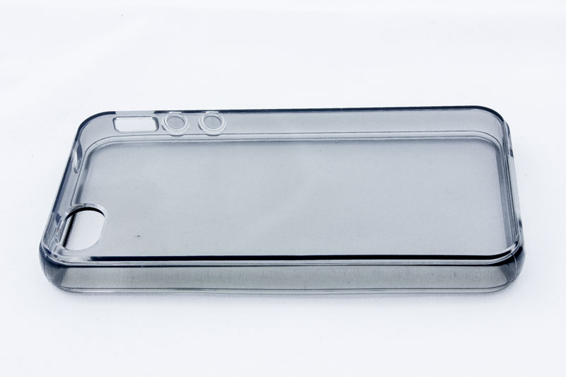 Geffy - Etui iPhone 4s / iPhone 4 TPU pure smoke