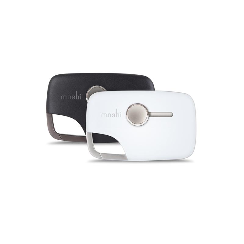 Moshi Xync Micro USB - Wielofunkcyjny brelok do ładowania i synchronizacji (czarny)