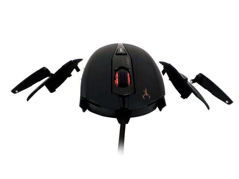 Gamdias Hades Laser - Mysz dla graczy z wymiennymi panelami (8200 DPI)