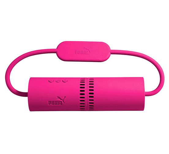 Puma Soundchuck - Głośnik bezprzewodowy Bluetooth stereo z mikrofonem (różowy)
