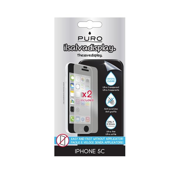 PURO Dwie folie na ekran - iPhone SE / iPhone 5s / iPhone 5c / iPhone 5