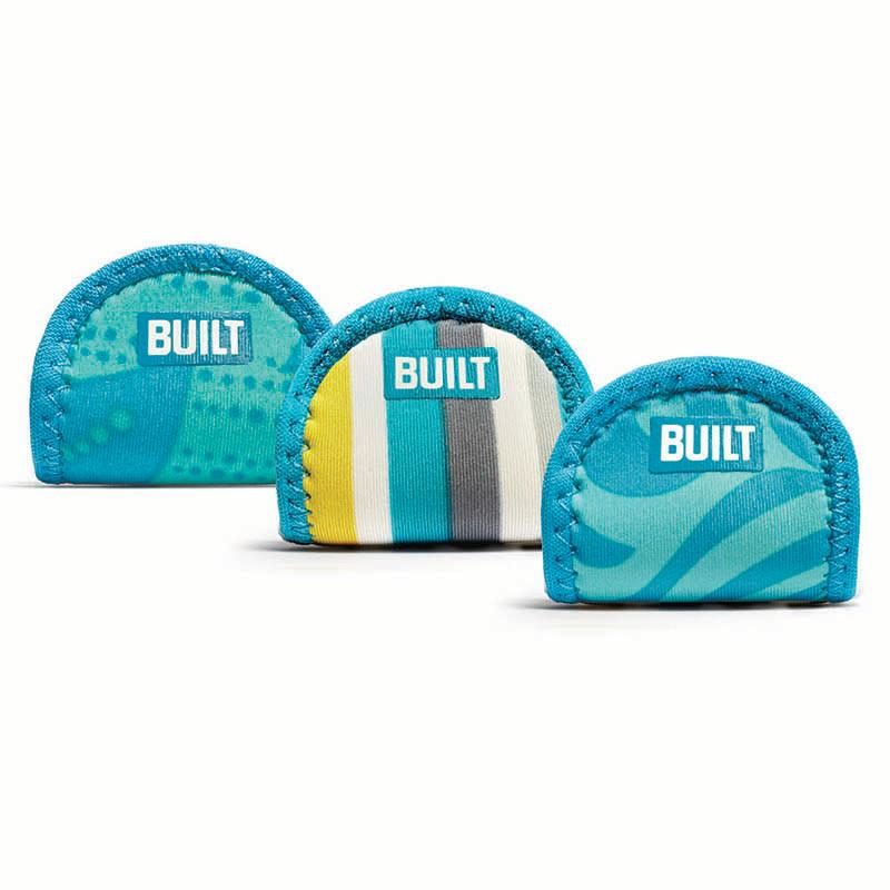 BUILT Pot Lid Holders - Uchwyty do pokrywek od garnków (3 w zestawie) (Sea Glass)