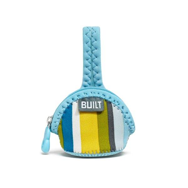 BUILT Paci-Finder - Pokrowiec na smoczek (Baby Blue Stripe)