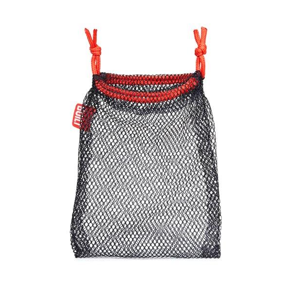 BUILT Travel Slippers XL - Składane kapcie podróżne z etui rozmiar 44-46.5 (Mini Dot Black and White)