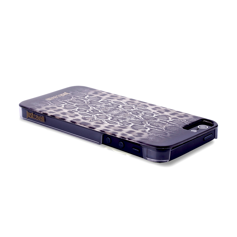 JUST CAVALLI Python Leopard Cover - Etui iPhone SE / iPhone 5s / iPhone 5