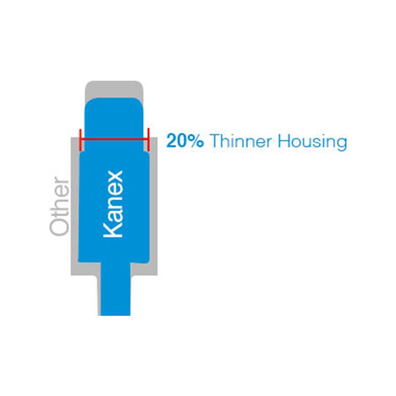 Kanex Lightning USB Ultra-Slim Connector - Kabel Apple Lightning MFi 1,2m (biały)