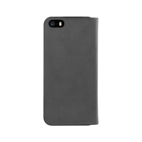 PURO Wallet Case - Etui iPhone SE / iPhone 5s / iPhone 5 (czarny)