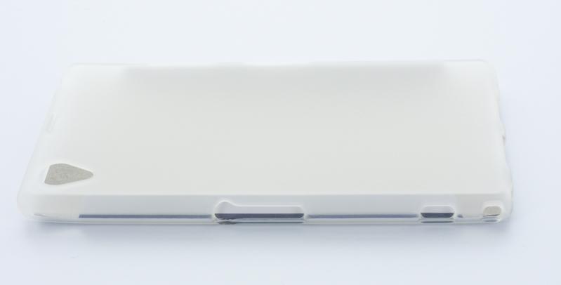 Geffy - Etui Sony Xperia Z1 TPU mat clear
