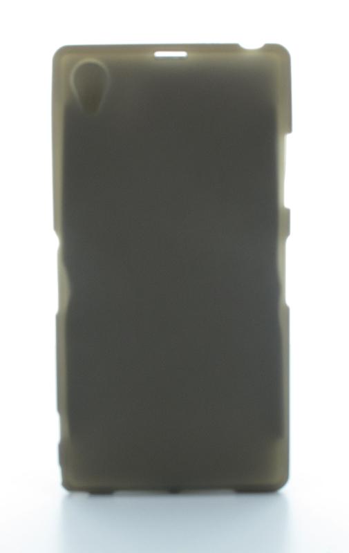 Geffy - Etui Sony Xperia Z1 TPU mat smoke