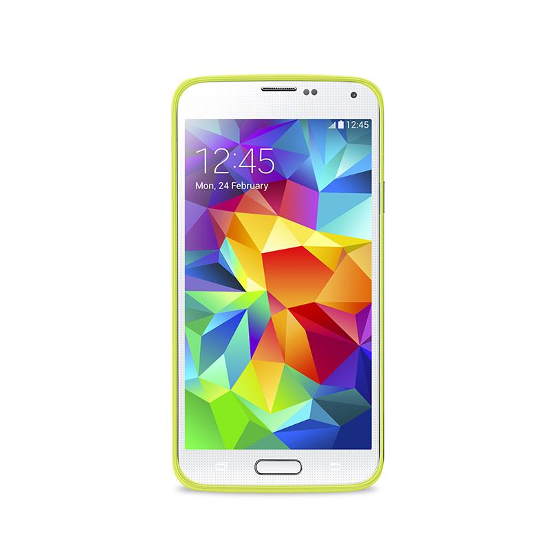 """PURO Ultra Slim """"0.3"""" Cover - Zestaw etui + folia na ekran Samsung Galaxy Alpha (zielony)"""