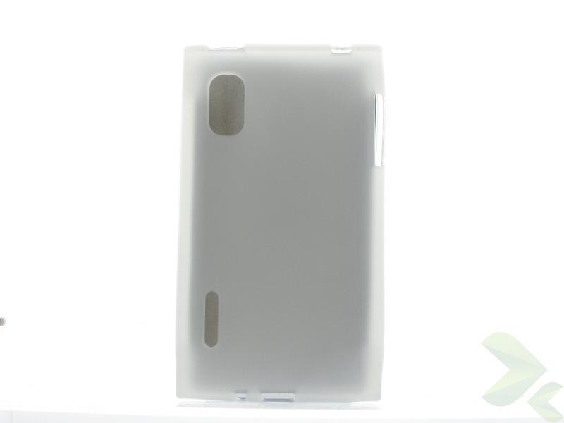Geffy - Etui LG Swift / Optimus L5 E610 TPU mat clear