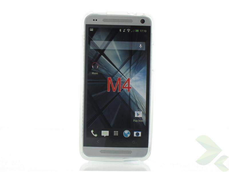 Geffy - Etui HTC One Mini TPU mat clear