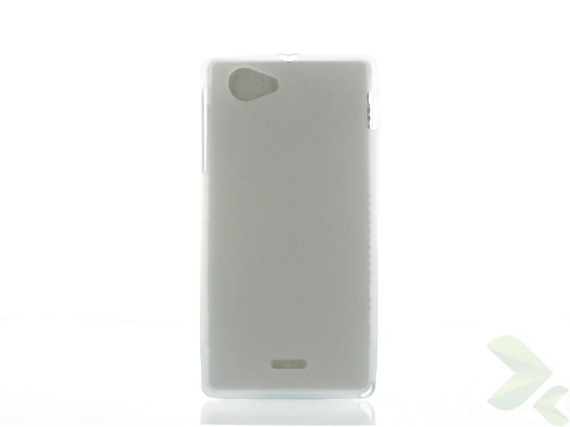 Geffy - Etui Sony Xperia J TPU mat clear