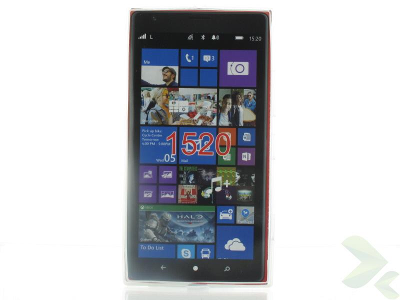 Geffy - Etui Nokia Lumia 1520 TPU mat clear