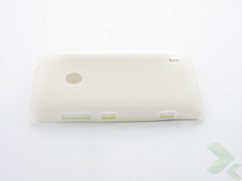 Geffy - Etui Nokia Lumia 520 TPU mat clear
