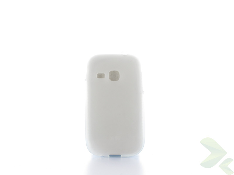 Geffy - Etui Samsung Galaxy Young/Young Duos TPU mat clear
