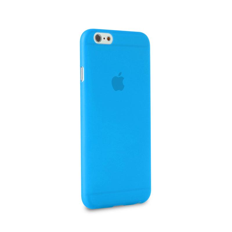 "PURO Ultra Slim ""0.3"" Cover - Zestaw etui + folia na ekran iPhone 6s Plus / iPhone 6 Plus (niebieski)"
