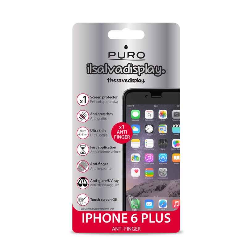 PURO Folia anti-finger na ekran iPhone 6s Plus / iPhone 6 Plus