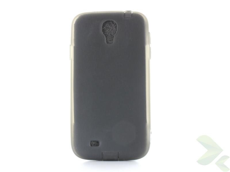 Geffy - Etui Samsung Galaxy S4 TPU mat smoke