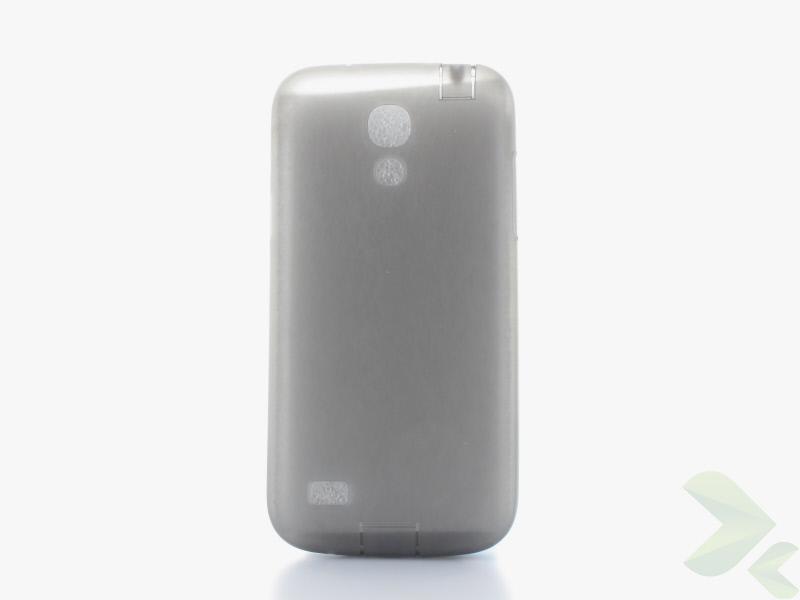 Geffy - Etui Samsung Galaxy S4 Mini TPU mat smoke