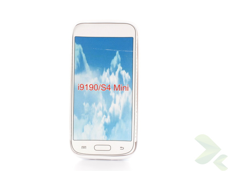 Geffy - Etui Samsung Galaxy S4 mini TPU S white