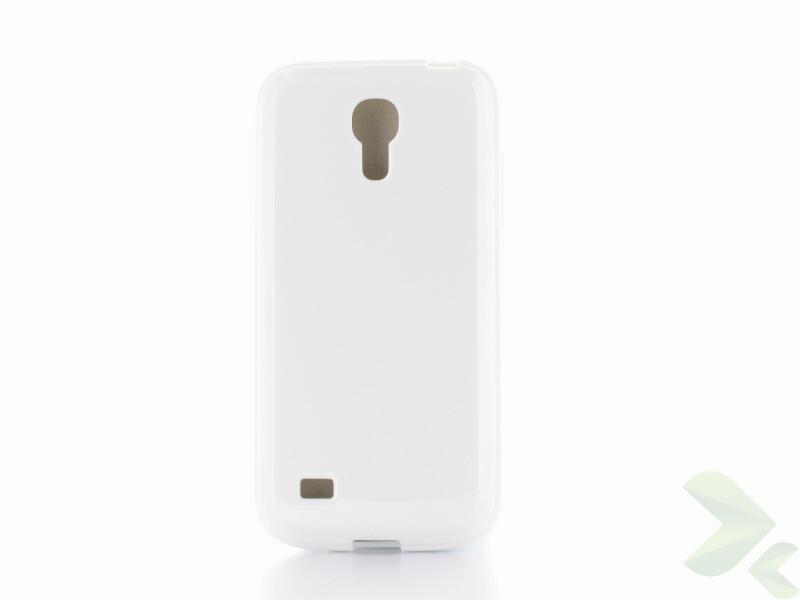 Geffy - Etui Samsung Galaxy S4 Mini TPU solid color white
