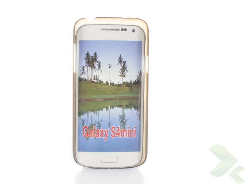 Geffy - Etui Samsung Galaxy S4 mini thin mat black