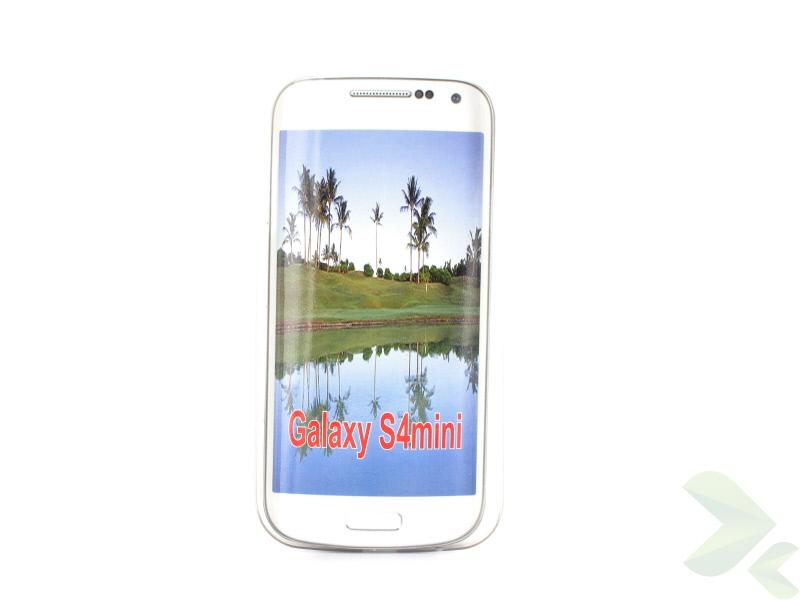 Geffy - Etui Samsung Galaxy S4 mini ultra-thin mat smoke